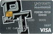 Perkins Tryon Demons Debit Card