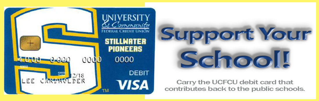 Stillwater Pioneer Debit Card Design