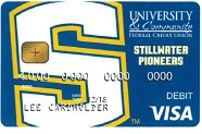Stillwater Pioneer Debit Card