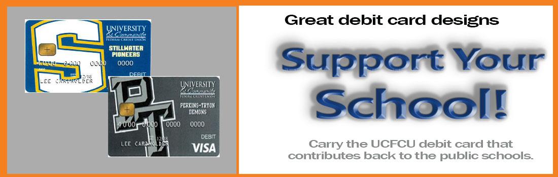 High School Debit Card Designs