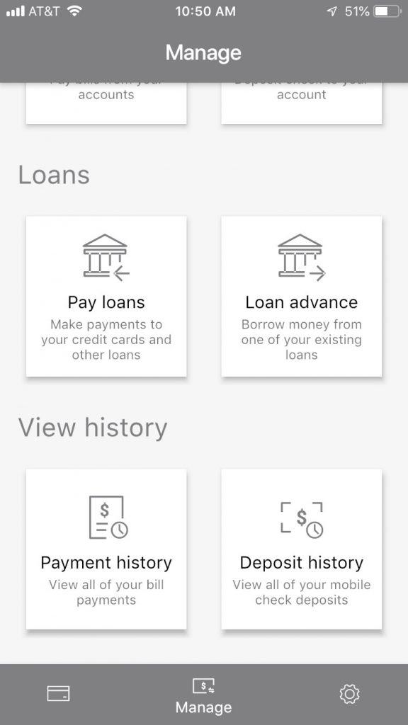 Mobile App Accounts Screen #2